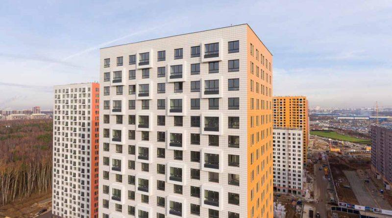 Саларьево Парк ход строительства корпус 9 дата съемки 06.11.2018