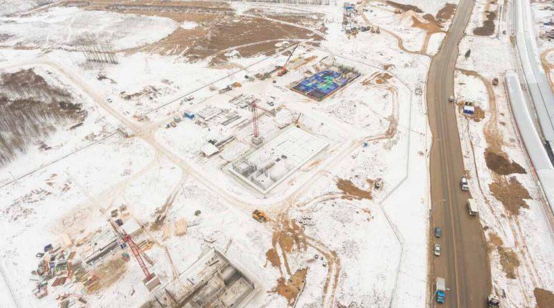 Саларьево Парк ход строительства корпус 22 дата съемки 6.12.2018